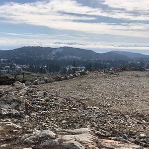 Future Bear Mountain/Skirt Mountain Elementary School Site Prepped for Construction