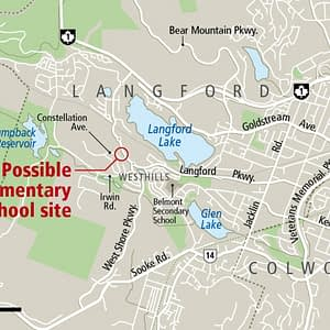 Land set aside at Westhills for elementary and middle school